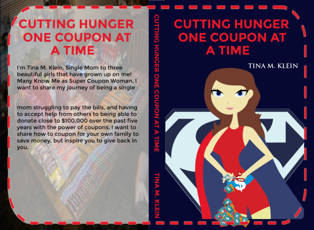 Book Cover: Cutting Hunger One Coupon At A Time